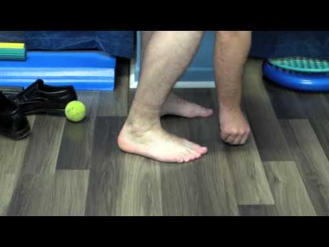 Tibialis Posterior and Fibularis Longus Rehabilitation - YouTube