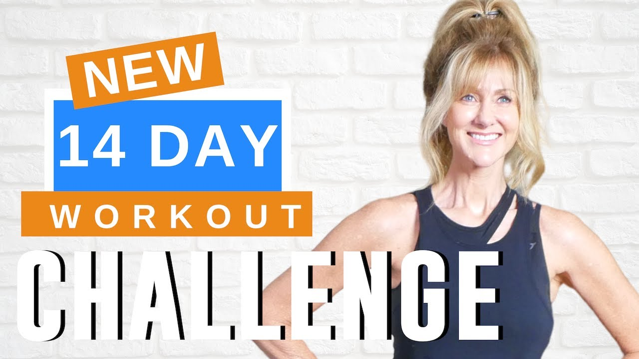 Fabulous50s 14 Day Workout Challenge | Lose Weight  Get Fit And Tone Muscles!