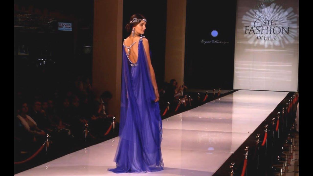 Фото платьев с модных показов