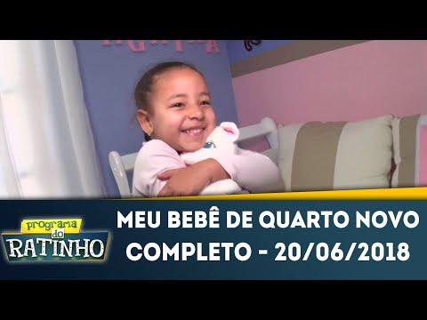 Meu Bebê De Quarto Novo | Programa Do Ratinho (20/06/2018)
