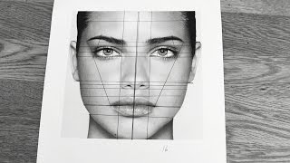 TUTORIAL: How to Draw Face Proportions (From a Photo)