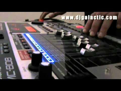 "DJ Galactic - ""GroovyMan"" with MC 808"