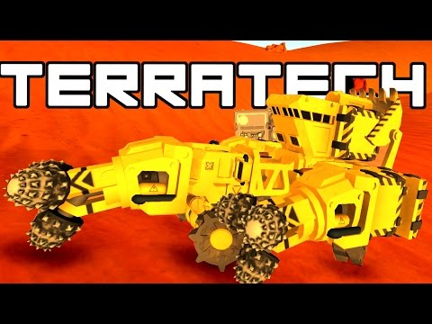 Terratech - Abandonded Scrap Collector!  - TerraTech Gameplay