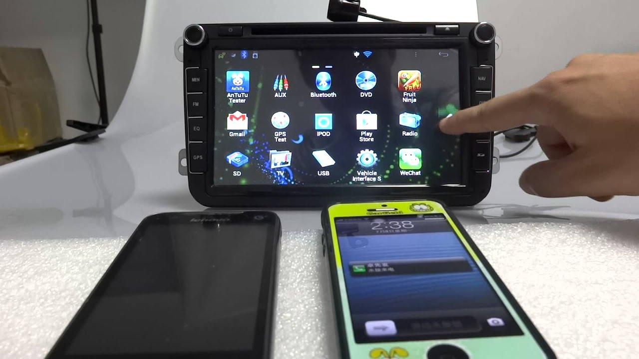 Cool Stuff Pure Android Car DVD With Capacitive Touch - Still cool car