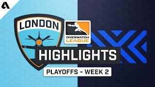 London Spitfire vs New York Excelsior | Playoffs Week 2 | Day 2 - Overwatch League S2 Highlights