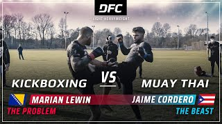Muay Thai vs. Kickboxing | MMA Streetfight | DFC