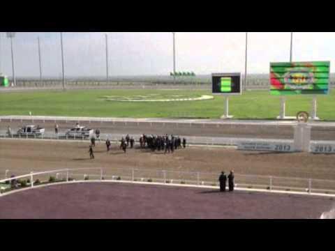 Turkmen President Falls Off Horse, Media Silent