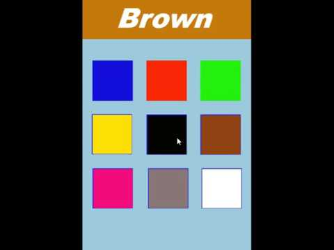 colors learning for kids app