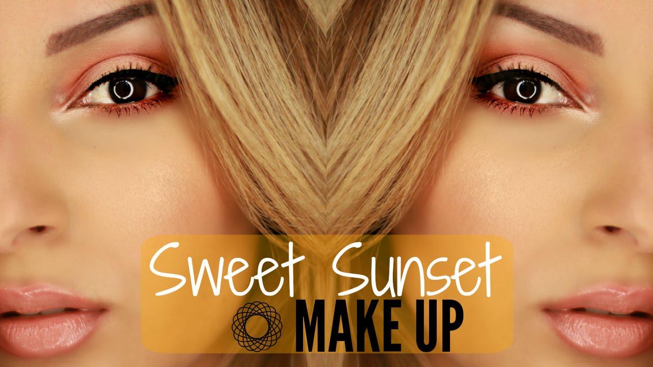 @Sananas: Sweet Sunset Make Up ✹ Maquillage orange cuivré et lumineux !