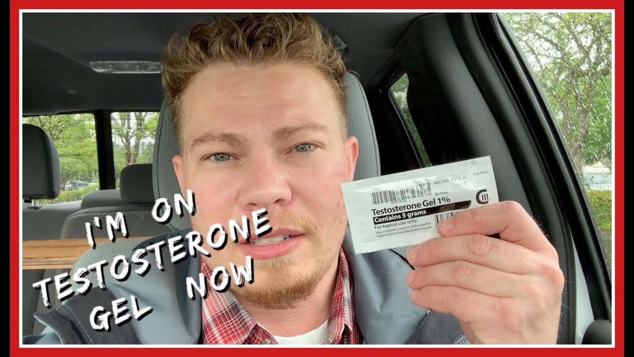I'm on Testosterone Gel - YouTube