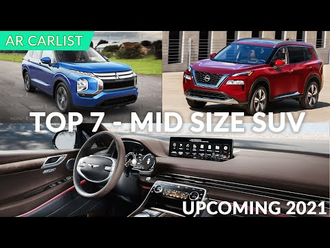 7 New SUV\'s Under $50K - Upcoming in USA (2021 Models | Redesigned)
