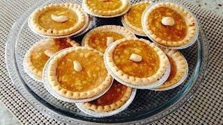 Mini Pumpkin Cream Cheese Pies, Pumpkin Creamcheese Tarts Recipe (holiday Baking Ideas)