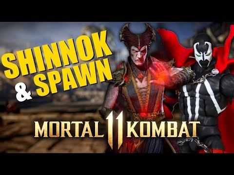 SHINNOK E SPAWN EM MORTAL KOMBAT 11? & KOMBAT KAST!! thumbnail