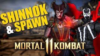 SHINNOK E SPAWN EM MORTAL KOMBAT 11? & KOMBAT KAST!!