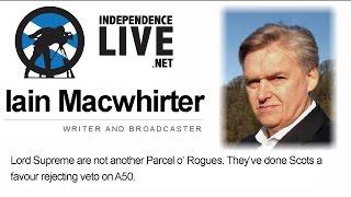 Iain Macwhirter Interview