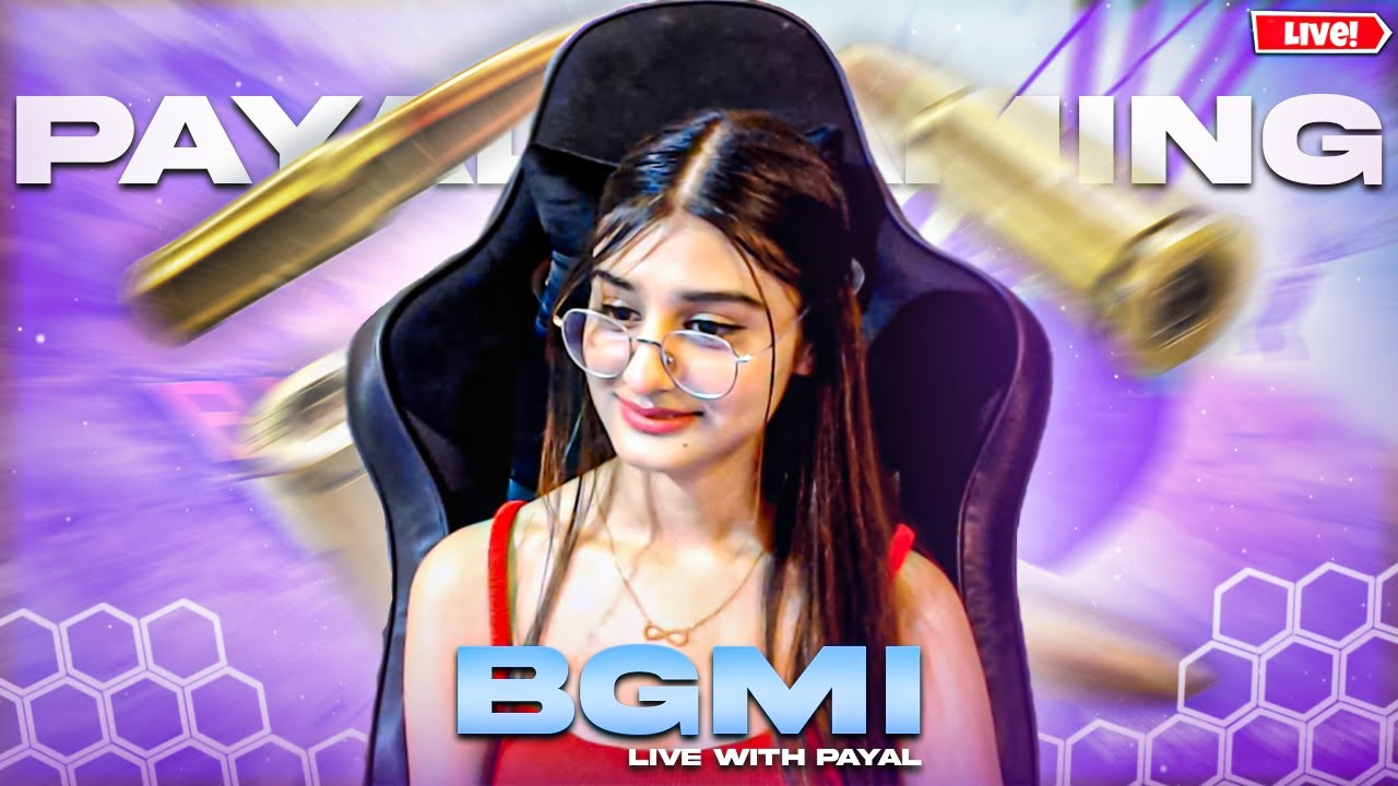 BGMI OFFICIAL LAUNCH ???PAYAL GAMING LIVE ?
