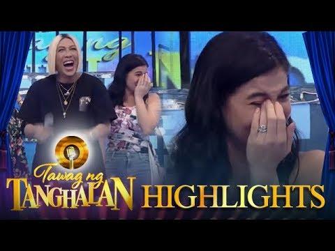 Tawag ng Tanghalan: Anne cries after laughing so hard!