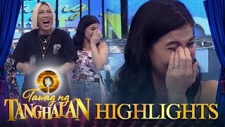 Tawag ng Tanghalan: Anne cries after laughing so hard!