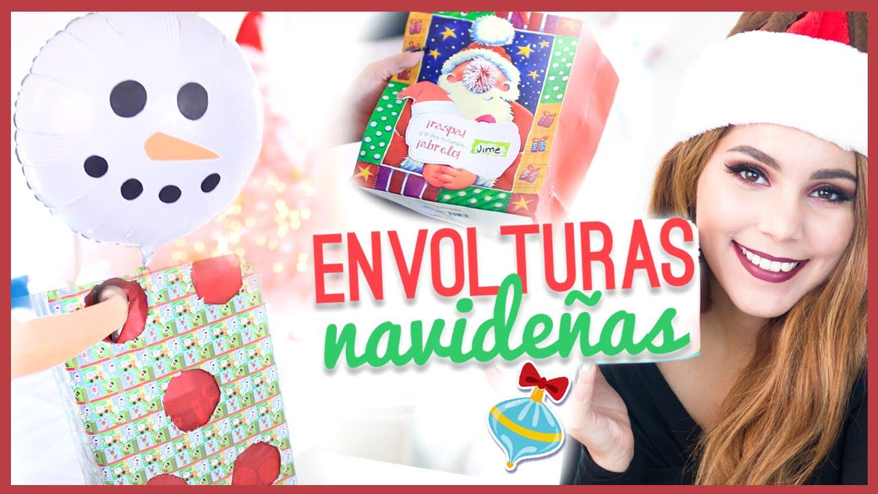 Diy ideas para envolver regalos de navidad originales y - Ideas para regalos de navidad originales ...