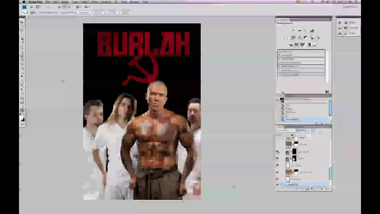 how to make a band poster youtube