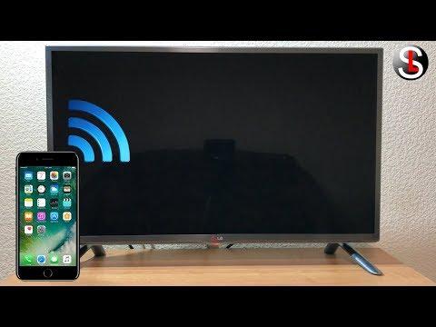 Как подключить телевизор к телефону через точку доступа