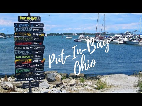 The Sights And Sounds On Put In Bay Island In Ohio