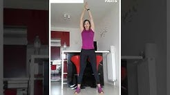 Paris chez vous : cours de 'global training' de 20 minutes avec Linda