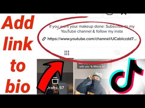 How To Add A Link To Your Tiktok Bio Dragonfinity Youtube