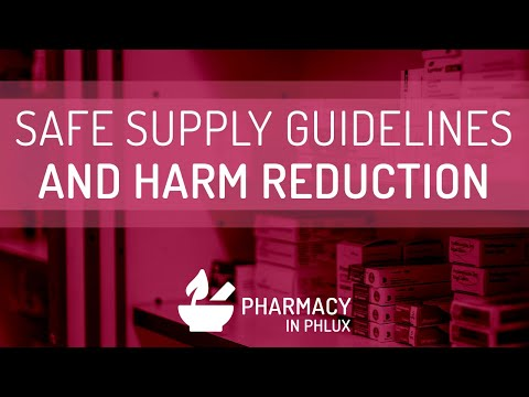 Safe Supply Guidelines - Pharmacy In Phlux 07