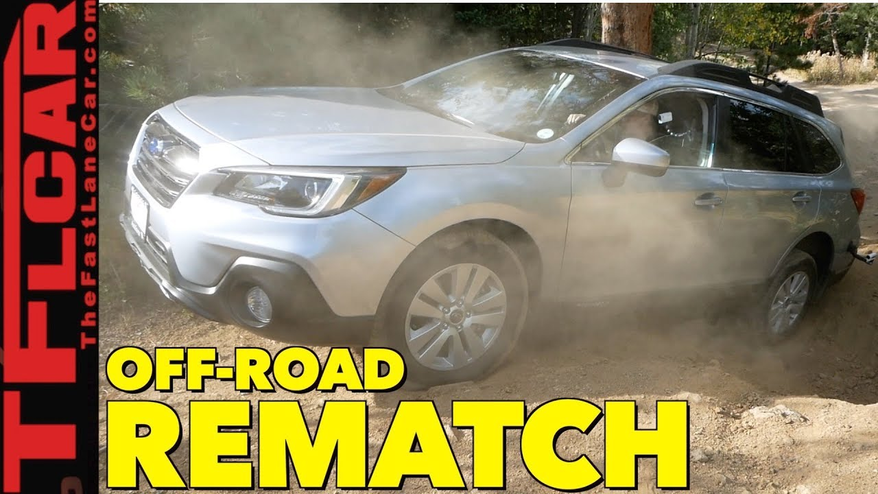Time for the Rematch: 2018 Subaru Outback vs  Gold Mine Hill