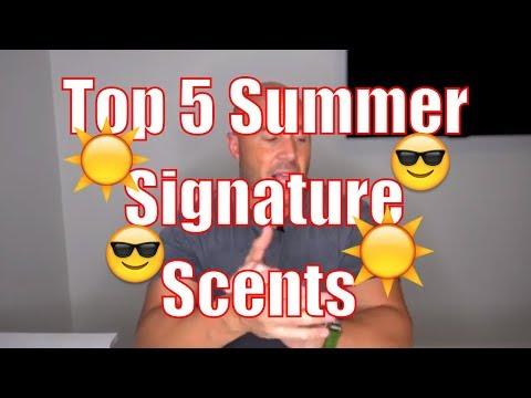 Top 5 Summer Signature Scents
