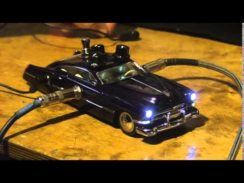 Zz Top Cadzzilla Tremolo Guitar Effect Diecast Car