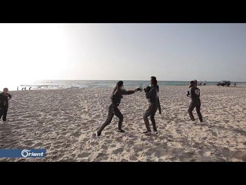 الفتيات يقتحمن حلبات الملاكمة في قطاع غزة  - 12:58-2020 / 5 / 31