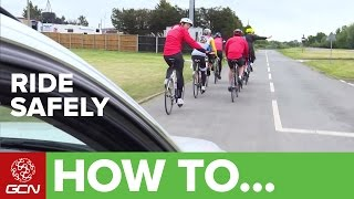 How To Ride Safely On The Road | Ridesmart