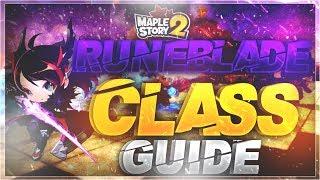 MapleStory 2 - Runeblader Class Guide