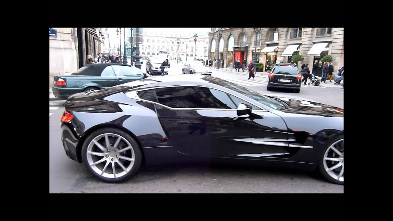 Aston Martin One 77 Engine Acceleration Sound Amp Other