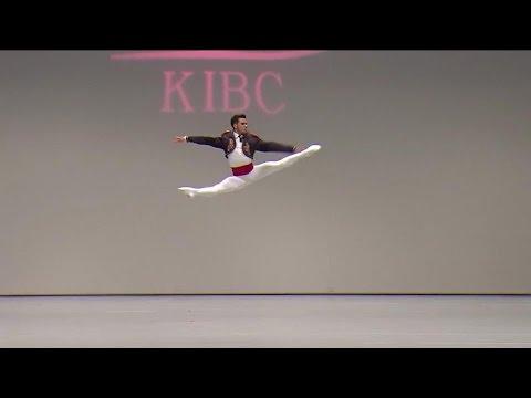 2015 Korea International Ballet Competition , Jorge Barani Silver Medalist ,Variation Don Quixote