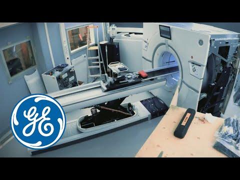 GE Revolution CT installation at Tampere University Hospital