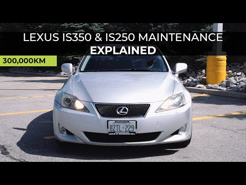 Lexus IS350 & IS250 Most Common Maintenance Issues Explained!