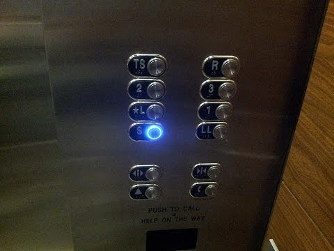 Newly Modernized Traction Elevators at Marriott Hotel, George Bush Airport in Houston TX.