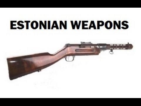 Weapons Of Estonia  1918 To 1940 - Eesti Relvad