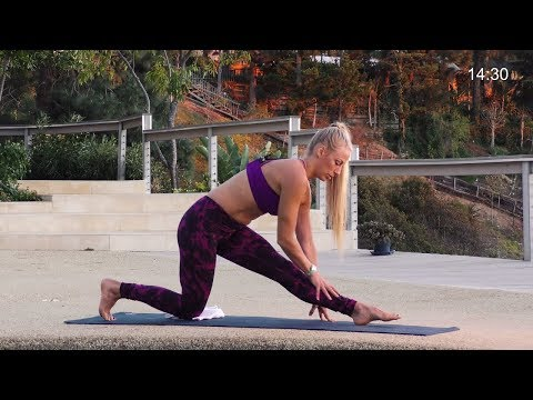Yoga Workout - Yoga Poses for Runners - Hip Opening Flow