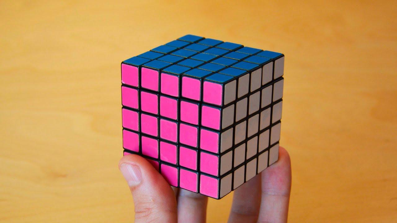 Resolver cubo de rubik 5x5 principiantes hd tutorial for Cubo de luz para jardin