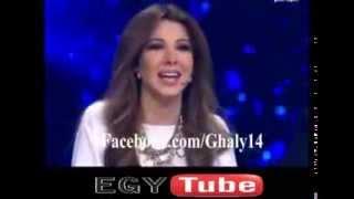 أضحك مع نانسي عجرم بعد رد فعل غريب من مطرب الخليج أحلام كنطاكي
