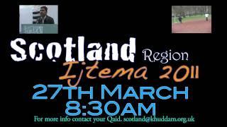 Promo Regional Ijtema 2011 Scotland