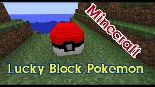สอนโหลดMinecraft Lucky Block Pokemon