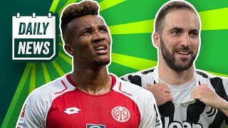 Transfer News: Gbamin nicht zu Arsenal! Vidal mit Inter einig! Cristiano Ronaldo verdrängt Higuain?
