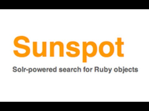 Ruby on Rails - Railscasts #278 Search With Sunspot
