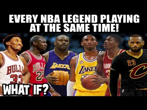What If ALL The NBA Legends played at the SAME TIME? WHICH NBA TEAM IS THE GREATEST EVER?