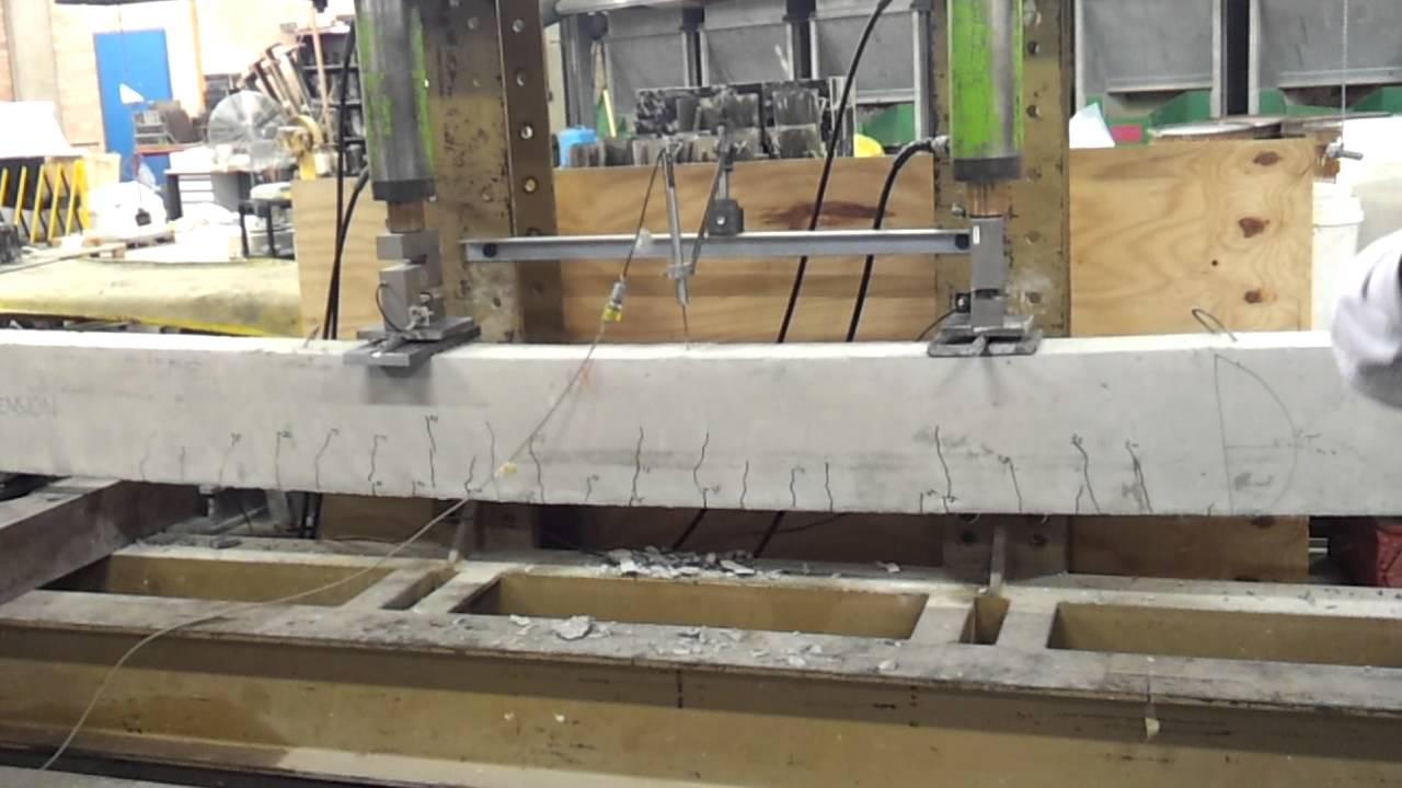 Reinforced Concrete Beam : Under reinforced beam